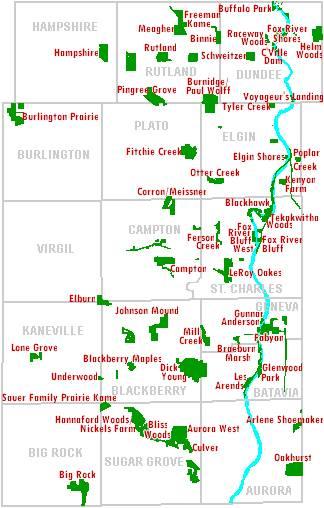 Hampshire Illinois Map.Alternative Future Scenarios For Open Space Protection In Kane